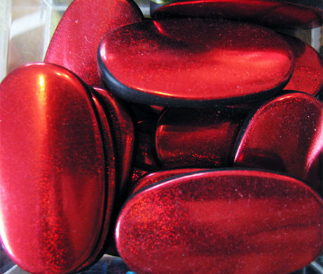red-oval-acrylic-beads
